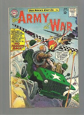 Our Army At War #140  Higher Grade Copy  Kubert Cover Art