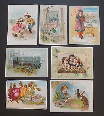 Vintage - Victorian Advertising Trade Cards - Lot of 16 - #572L