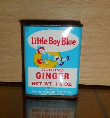 #15 OLD Advertising Spice Tins Graphics