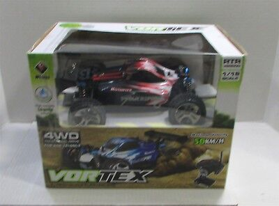 WLtoys A959 Vortex 1/18 Scale 2.4G 4WD Electric RC Car Off-Road Buggy RTR 50km