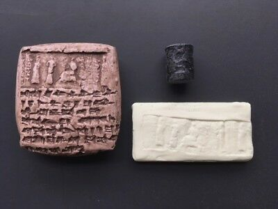 Ugarit Tablet & Seal Recreation