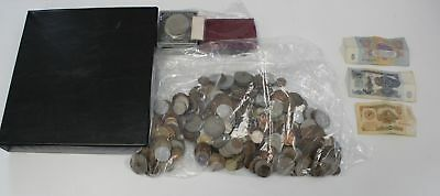 Collection of MIXED Vintage COINS & Banknotes incl Russian 4.3KG  - C37