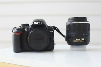 Nikon, D3100, black, with AF-S DX Zoom 18-55mm/3.5-5.6G, with bag,good condition