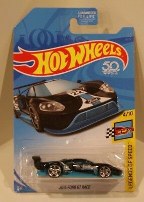 Ford Gt Race Hot Wheels  Legends Of Speed Kroger Exclusive Black
