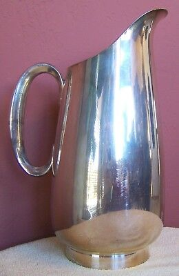 Vintage 1955 Reed & Barton Silver Plated Water Pitcher 1145 8 H.P.
