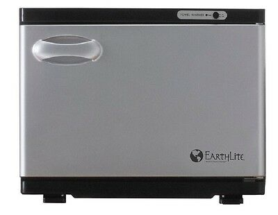 NEW EarthLite Salon Standard UV Hot Towel Cabinet Towel Sanitizer Warmer Black