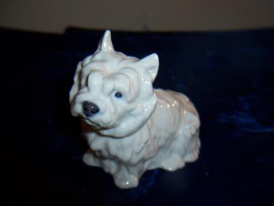 Royal Copenhagen 4918 West Highland White Terrier Dog Figurine Denmark