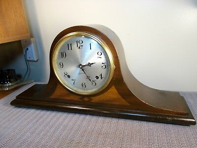 "1920's SESSIONS ""BERKELEY"" 8 DAY TIME + STRIKE ART DECO TAMBOUR CLOCK, EXCELLENT"