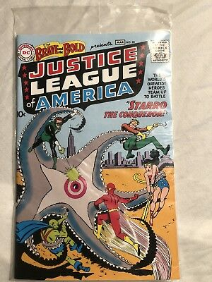 Vintage DC Comics Justice League Of America Brave And The Bold No. 28 Comic