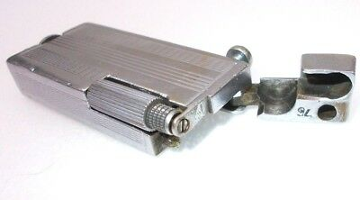 Vintage cigarette lighter petrol brass antique trench Gamma Hungary 1950s  ,