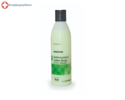 McK McKesson Antimicrobial Lotion Soap with Aloe Herbal Scent 8 oz. Bottle