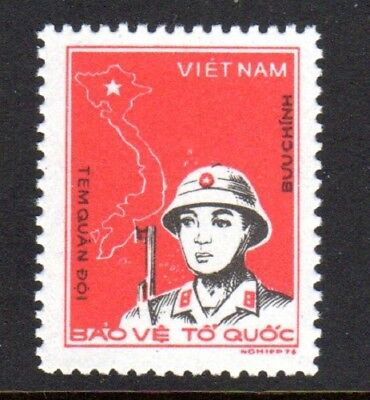 1976 VIETNAM MILITARY FRANK SGMF110 mint no gum as issued