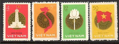 1977 VIETNAM NATIONAL ASSEMBLY ELECTION ANNIVERSARY SG143-146 mint n/g as issued