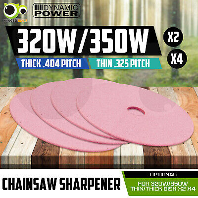 320W/350W Chainsaw Sharpener Chain Saw Bench Mount Electric Grinder Disk X2 X4