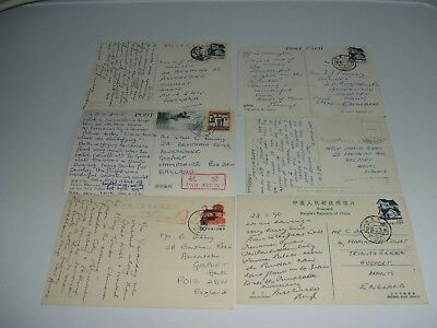 Selection Of Postcards China