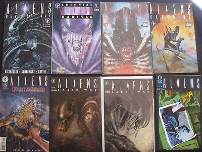 ALIENS : BUNDLE of 17 DARK HORSE issues.1990's, FN-NM, GREAT SELECTION,see DESCR