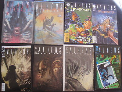 ALIENS : BUNDLE of 12 DARK HORSE issues.1990's, FN-NM, GREAT SELECTION,see DESCR