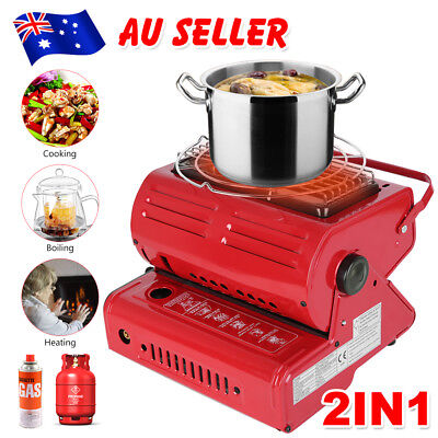 Butane Gas Heater Camping Camp Tent Hiking Outdoor Camper Survival Heat