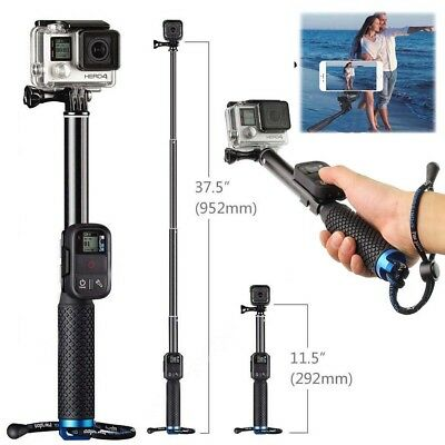 Extendable Telescopic Monopod Selfie Pole Handheld Stick for GoPro Hero iphone 8