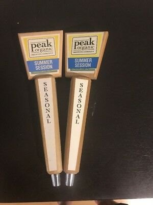 """Collectible Peak Organic Summer Session Beer Tap Pull 13"""""""