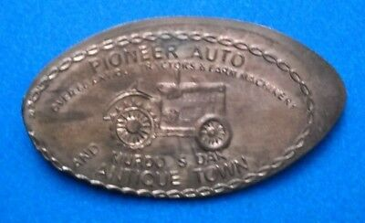 Pioneer Auto elongated penny Murdo SD USA cent Antique Tractor souvenir coin