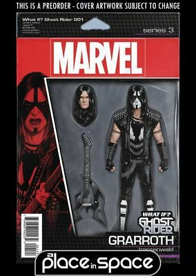 (Wk42) What If? Ghost Rider #1B - Action Figure Variant - Preorder 17Th Oct