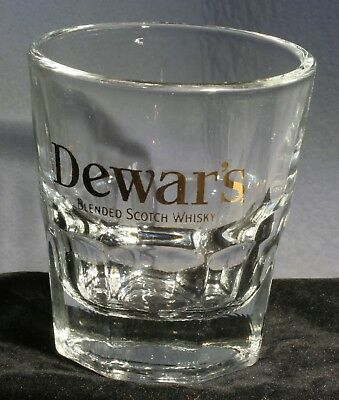 Dewar's Blended Scotch Whisky Large Shot Glass
