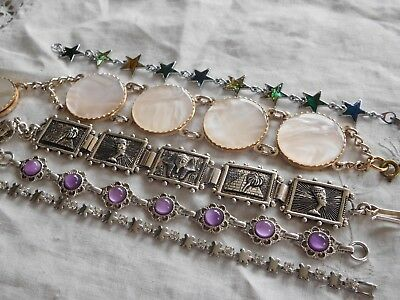 Lovely Mixed Collection of Vintage 1950s/60s/70s BRACELETS