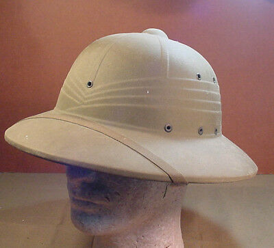 WWII US ARMY HAWLEY PAPER PRODUCTS Co. JUNGLE PITH HELMET