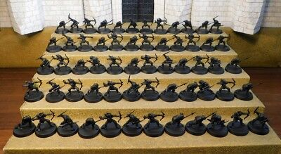 MORIA GOBLIN WARRIORS - Lord Of The Rings 60 Plastic Figure(s)