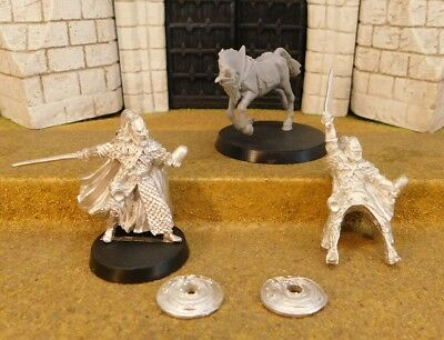 ERKENBRAND FOOT & MOUNTED - Lord Of The Rings Metal Figure(s)
