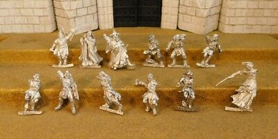 12 BROKEN FIGURES - Lord Of The Rings 12 Metal Figure(s)