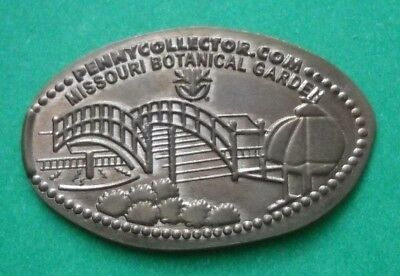 Missouri Botanical Garden elongated penny St Louis MO USA cent souvenir coin