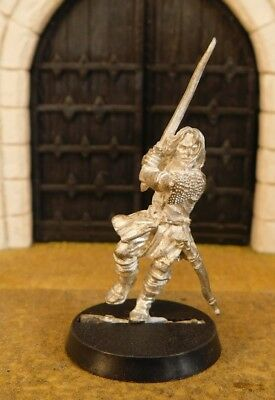 ARAGORN HELM'S DEEP - Lord Of The Rings Metal Figure(s)