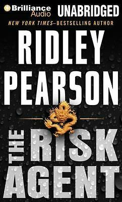 Ridley Pearson RISK AGENT Unabridged Audiobook MP3-CD New free Shipping