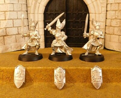 KNIGHTS OF DOL AMROTH - Lord Of The Rings 3 Metal Figure(s)