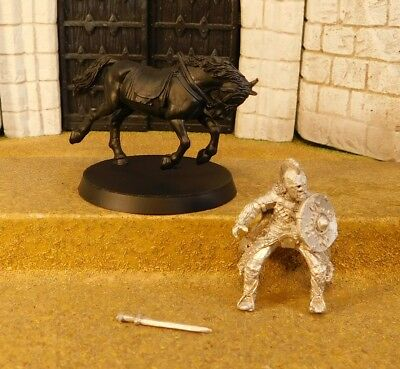 ROHAN ROYAL GUARD MOUNTED - Lord Of The Rings Metal Figure(s)