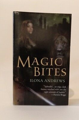Ilona Andrews Magic Bites Fantasy Taschenbuch