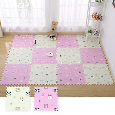 Toddler Baby Crawling Mat Foam Floor Mats Child Kids Play Mat Puzzle Mats 16 Pcs