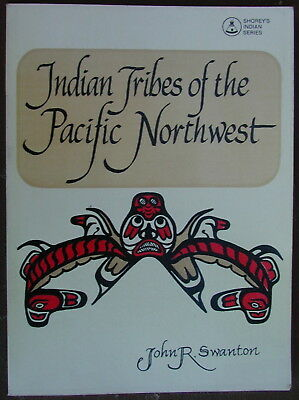 "Old Original Book ""INDIAN TRIBES OF THE PACIFIC NORTHWEST"" Very Rare"