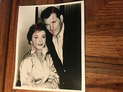 Ida Lupino Actress Singer & Howard Duff Actor 8x10 Original Photograph