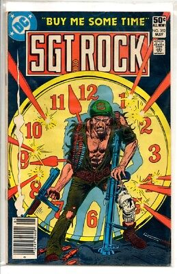 Sgt Rock Dc War Comic #352 1981  Our Army At War