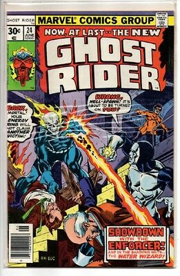 Marvel Ghost Rider Superhero Comic # 24 1977