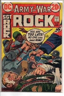 Our Army at War Dc Comic #254 1973  Sgt Rock