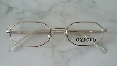 Vintage  Glasses  Oxford  Ox003 Silver  48/20 New
