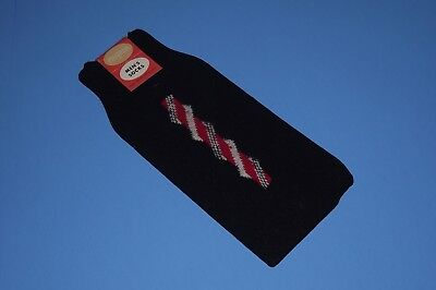 TRUE vintage 1960s SEARS PILGRIM retro ARGYLE mens DRESS SOCKS sz 10-13 NOS tags