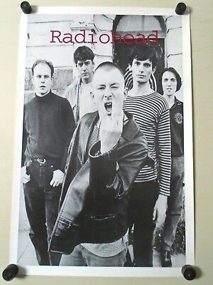Radiohead / Original Vintage B&W Poster / Finger - UK / Exc. New Cond.- 23 x 35""