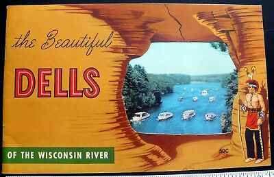 2 Wisconsin River Booklets, 1966 Stand Rock & 1954 Beautiful Dells