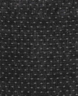 Antique 1880 Loose Weave Black & White Fabric