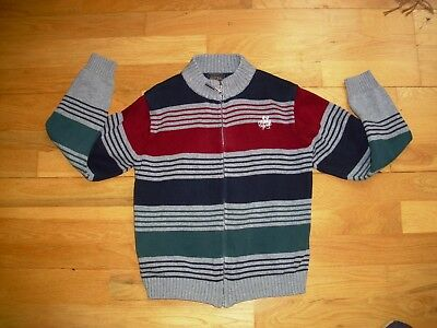 Boys MAYORAL knitwear winter zipped cardigan age 8 great condition